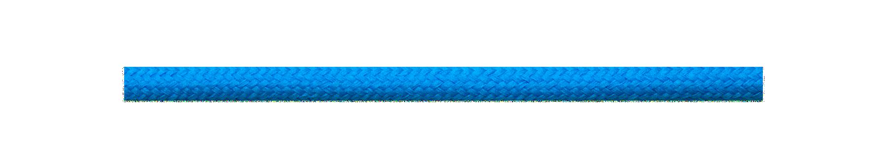 Textilkabel Blau-Türkis