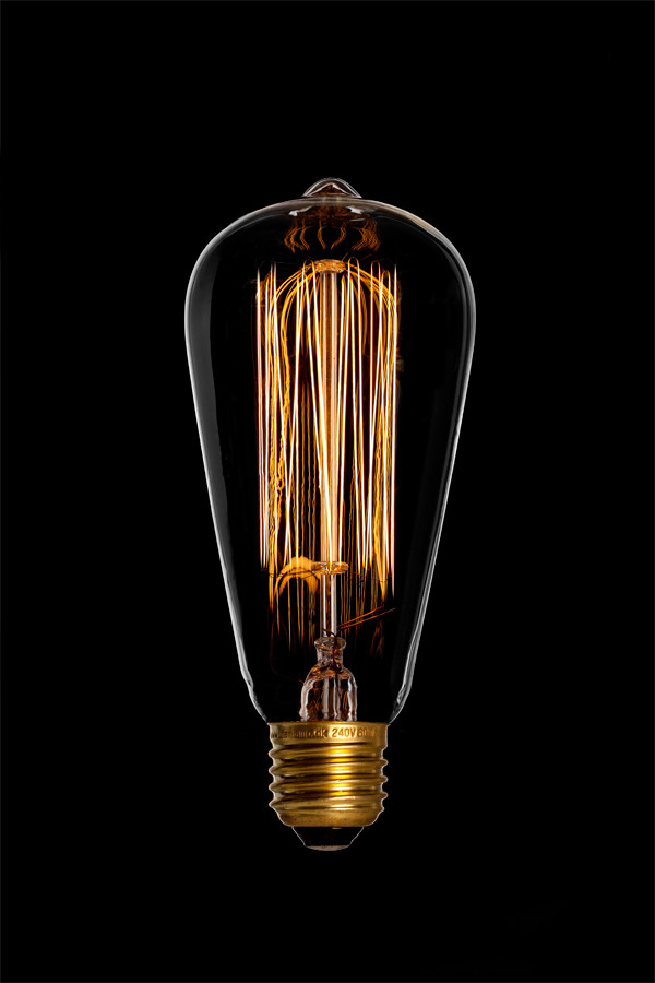 Deko Birne Edison E27 40W 60W 100W