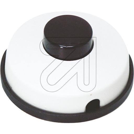 Fußtret-Schalter schwarz-weiß