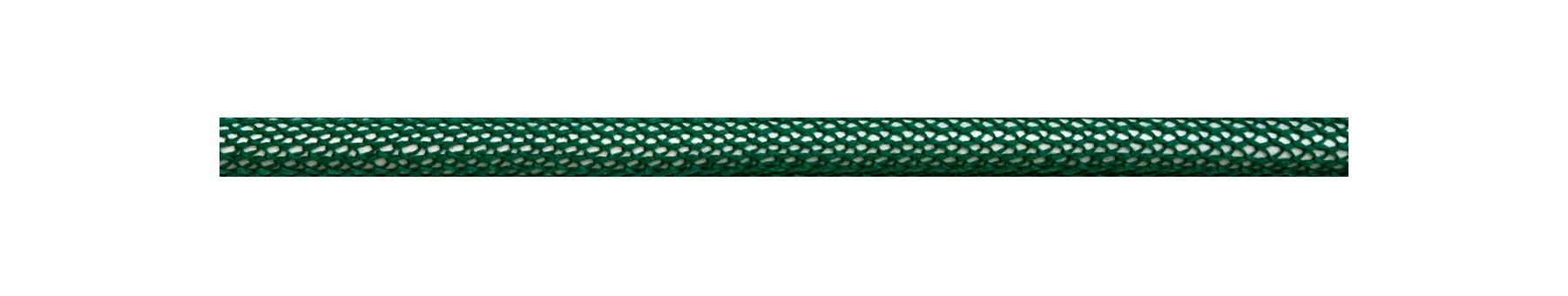 Textilkabel Grün-Weiß Netzartiger Textilmantel