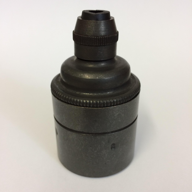 Metallfassung E27 antik bronze mit Zugentlastung