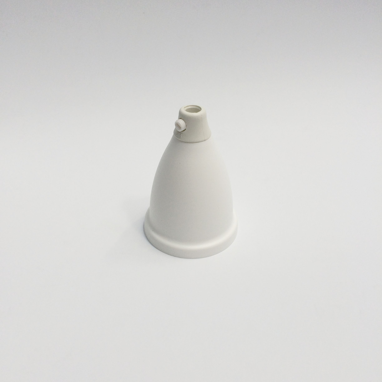Baldachin - Kunststoff konisch klein weiß