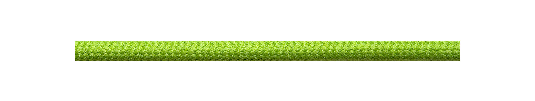 Textilkabel Apfelgrün