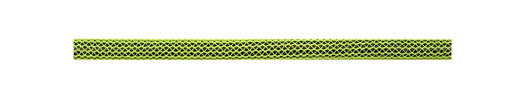 Textilkabel Neon Grün/Schwarz Netzartiger Textilmantel