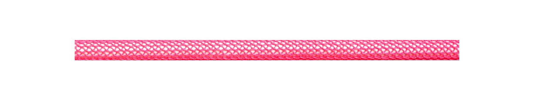 Textilkabel Neon Pink Netzartiger Textilmantel