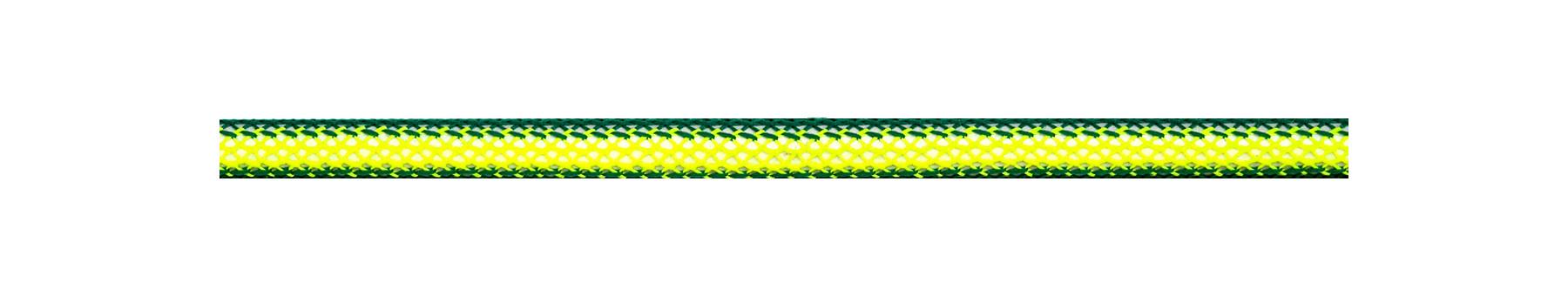 Textilkabel Grün/Gelb Netzartiger Textilmantel