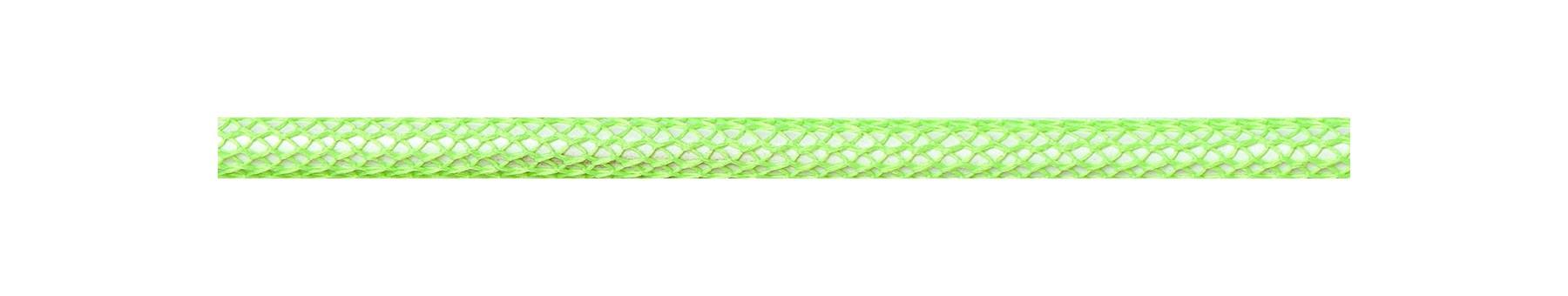 Textilkabel Neon Grün Netzartiger Textilmantel