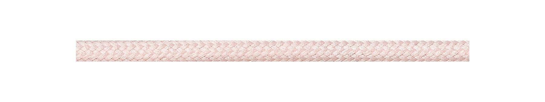 Textilkabel Pastellrosa