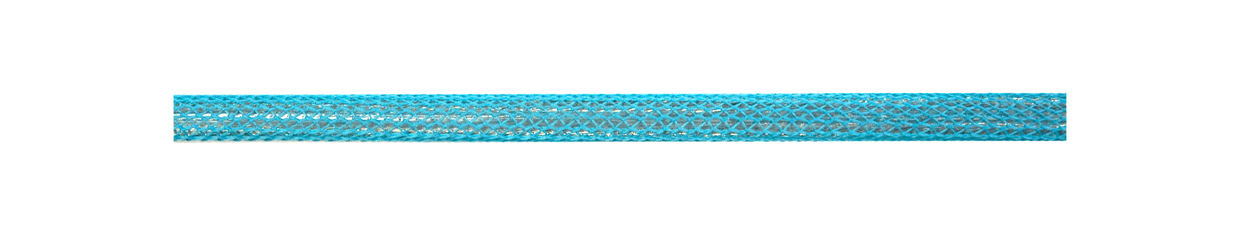 Textilkabel Türkis Netzartiger Textilmantel