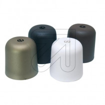 Baldachin - Kunststoff zylindrisch schwarz weiß gold braun