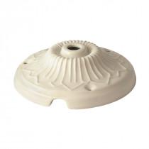 Baldachin - Porzellan Dekor weiß