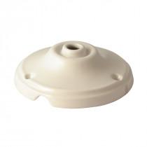 Baldachin - Porzellan glasiert weiß