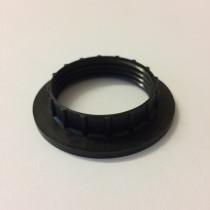 Kunststoff Schraubring E27 schwarz