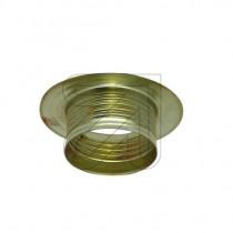 Metall Schraubring E14 gold