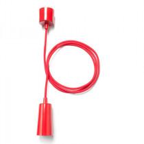 Plumen Drop Cap + Pendant Set Hängeleuchtenset Rot