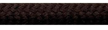 Textilkabel Dunkelbraun