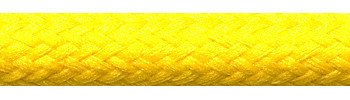 Textilkabel Gelb