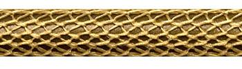 Textilkabel Gold Netzartiger Textilmantel