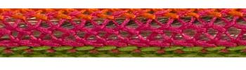 Textilkabel Happy Stripe Netzartiger Textilmantel