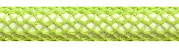 Textilkabel Hellgrün Netzartiger Textilmantel