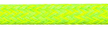 Textilkabel Neongrün-Gelb
