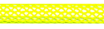 Textilkabel Neon Gelb Netzartiger Textilmantel