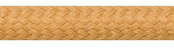 Textilkabel Nougat