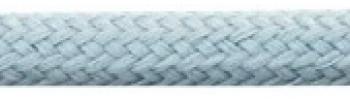 Textilkabel Pastellblau