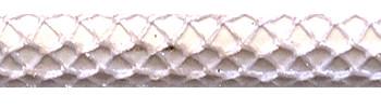 Textilkabel Glänzend Weiß Netzartiger Textilmantel