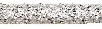 Textilkabel Silber