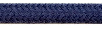 Textilkabel Stahlblau