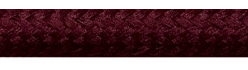 Textilkabel Weinrot