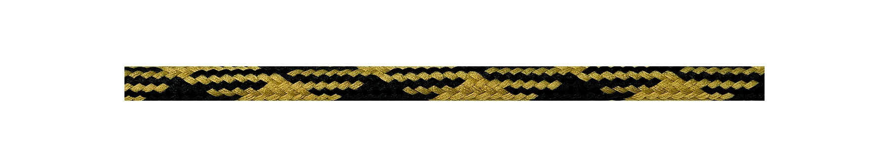 Textile Cable Gold-Black