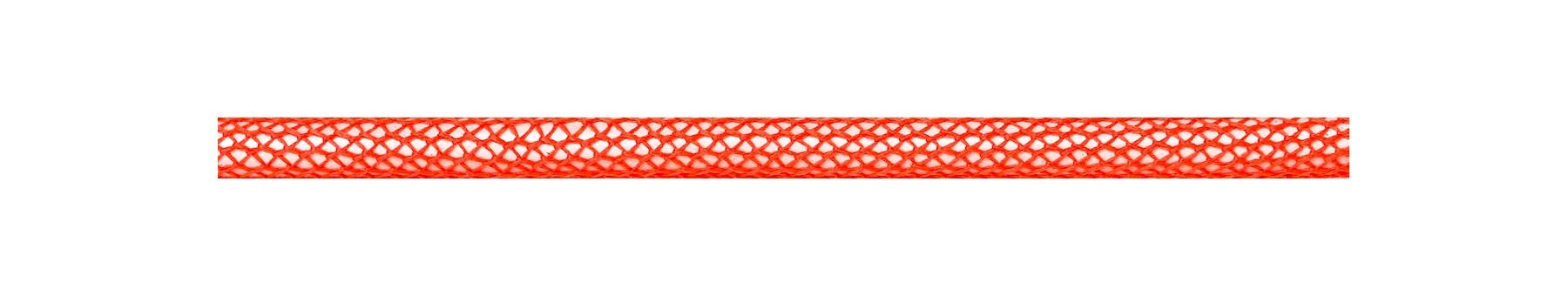 Textile Cable Neon Orange Netlike Covering