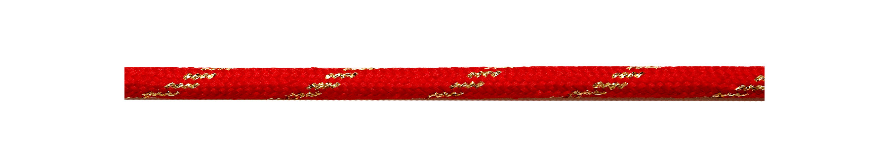 Textile Cable Red-Gold Twist