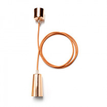 Plumen Drop Cap + Pendant Set Copper