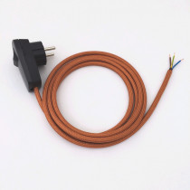Assembled Supply Cord with Schuko Plug-Switch Copper 3 Core