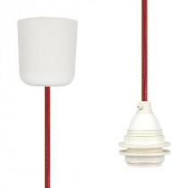 Pendant Lamp Plastic Happy Stripe Netlike