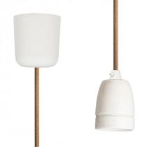 Pendant Lamp Porcelain Beige