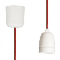 Pendant Lamp Porcelain Happy Stripe Netlike