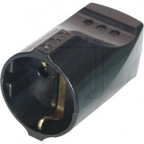 Schuko Plug Connector Black