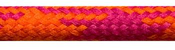 Textile Cable Orange-Cerise-Cerise