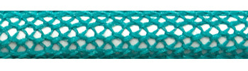 Textile Cable Turquoise Netlike Textile Covering