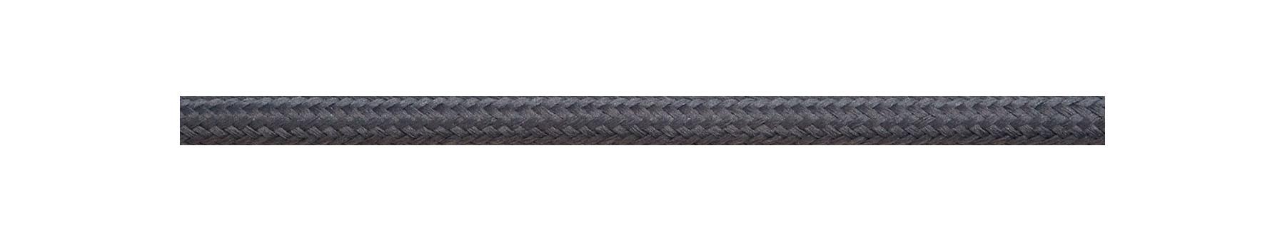 Textile Cable Dark Grey