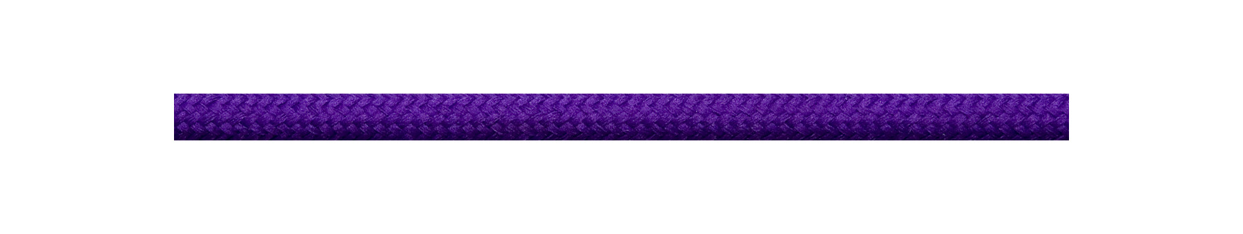 Textile Cable Purple