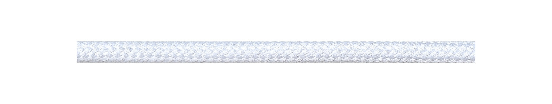 Textile Cable White