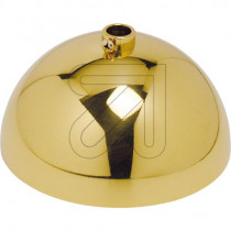 Canopy – Metal Hemispherical Shape Brass Polished