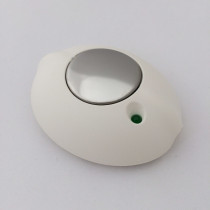 Dimmer switch with soft-touch control white