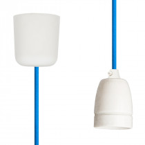 Pendant Lamp Porcelain Blue-Turquoise