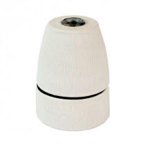 Porcelain Lamp Holder E27 Matte